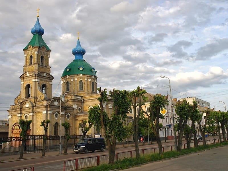 Никольский собор в Бердичеве